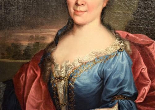 18th century - Pair de Portraits, Workshop of Nicolas de Largillière 17th century