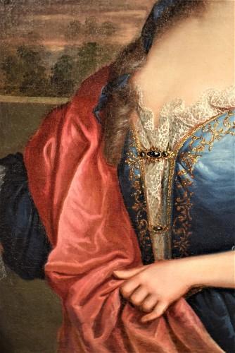 Pair de Portraits, Workshop of Nicolas de Largillière 17th century - Louis XV