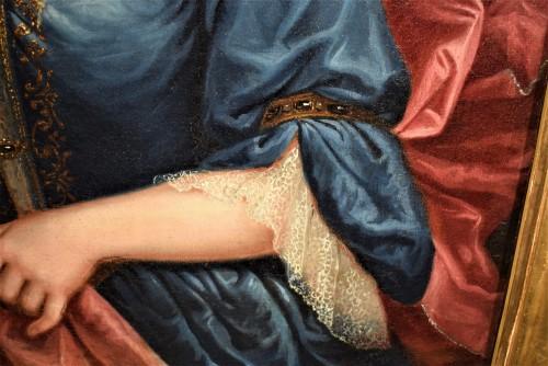 Louis XV - Pair de Portraits, Workshop of Nicolas de Largillière 17th century