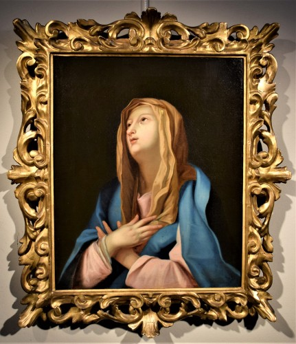Vergine Orante - Workshop of Guido Reni  (Bologna 1575-1642) - Paintings & Drawings Style Louis XIV