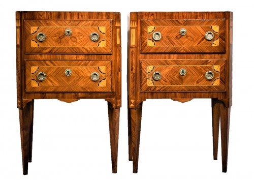 Two Commode Louis XVI - Italy 18th century