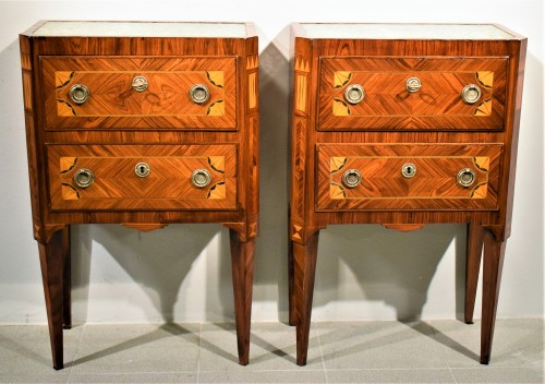 Furniture  - Two Commode Louis XVI - Italy 18th century