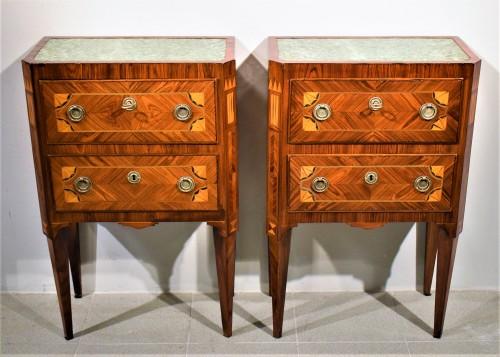 Two Commode Louis XVI - Italy 18th century -
