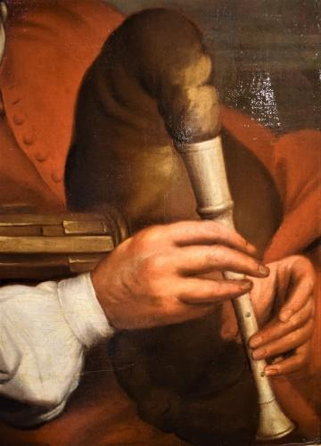 Paintings & Drawings  - Portrait of François Langlois,  Flamish school 17th century