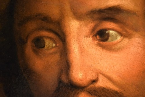 Portrait of François Langlois,  Flamish school 17th century - Louis XIV