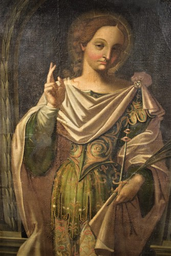 "Paintings & Drawings  - ""Saint Lucia"" Venetian school of Paolo Caliari"