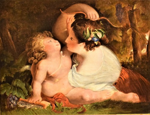 Venus et Cupidon, William Eduard Frost (1810-1877) - Paintings & Drawings Style Louis-Philippe