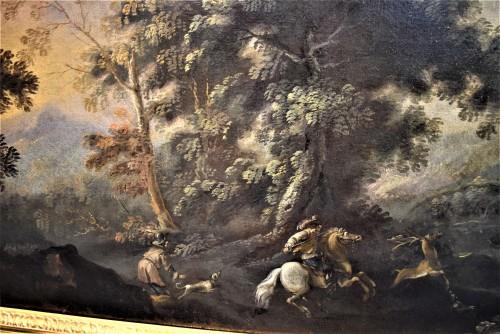 Paintings & Drawings  - Pandolfo Reschi (1624-1699) - Deer Hunting