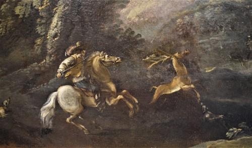Pandolfo Reschi (1624-1699) - Deer Hunting - Louis XIV