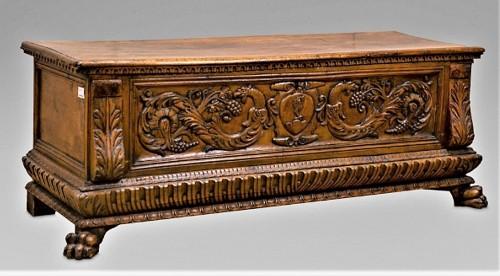 Tuscan Renaissance, Family Beccadelli Grimaldi  - Furniture Style Renaissance