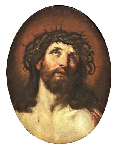 """Ecce Homo"" - Workshop of Guido Reni (Bologne1574-1642)"