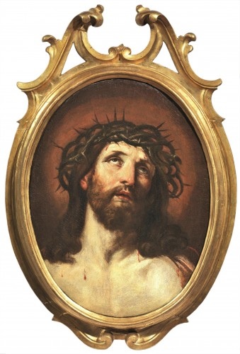 """""""Ecce Homo"""" - Workshop of Guido Reni (Bologne1574-1642) - Paintings & Drawings Style Louis XIII"""