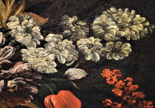 Paintings & Drawings  - Still Life of Flowers - Italian school of the 17th century