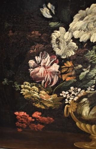 Still Life of Flowers - Italian school of the 17th century -