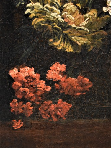 - Still Life of Flowers - Italian school of the 17th century