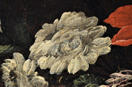 Antiquités - Still Life of Flowers - Italian school of the 17th century