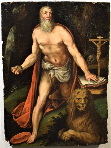 Saint Jerome - Italian school of the 16th century