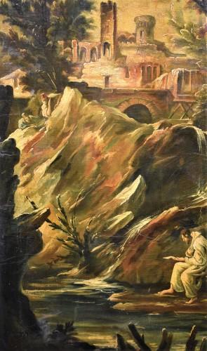 18th century - Fantastic Landscape -  Alessandro Magnasco  (Gênes 1667 - 1749)
