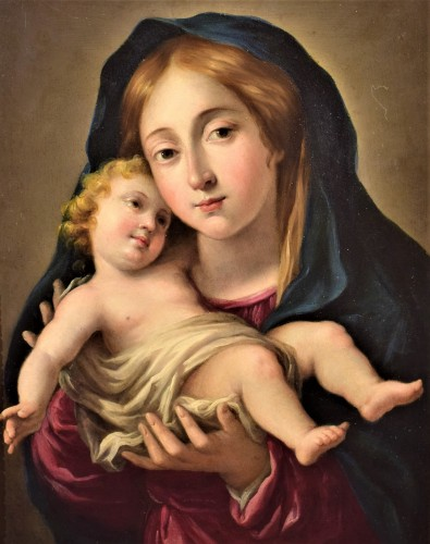 Vierge and Child, Italian school 17th century