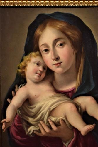 Vierge and Child, Italian school 17th century -