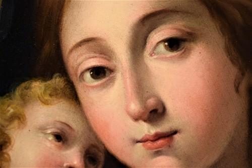 Antiquités - Vierge and Child, Italian school 17th century