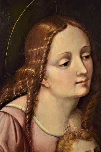 Renaissance - Vierge whit Child and St. John the Baptist