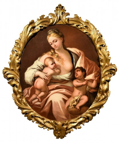 Allegory of Charyty - Attributed to Domenico Piola  (Gênes 1627-1703)