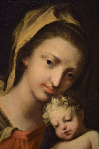 Paintings & Drawings  - Vierge and Child workshop of Jacopo Amigoni