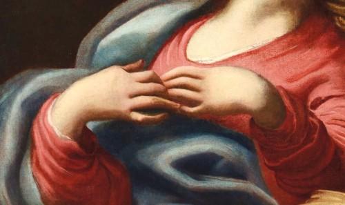Madonna and Child - workshop Domenico Piola (Genoa 1627-1703) -