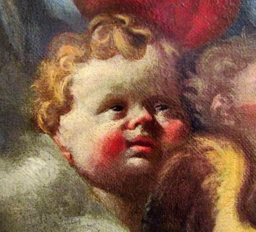 Louis XIV - Madonna and Child - workshop Domenico Piola (Genoa 1627-1703)