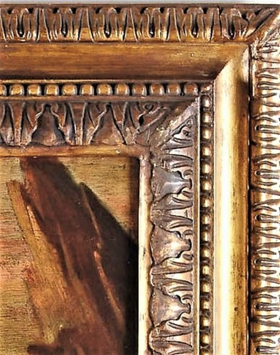 Antiquités - Madonna and Child - workshop Domenico Piola (Genoa 1627-1703)