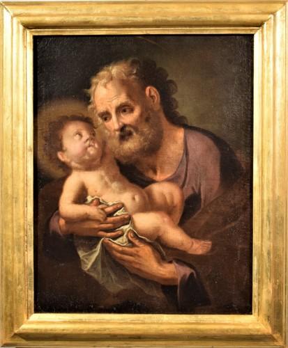 "Saint Joseph with the Child ""Paternity"""
