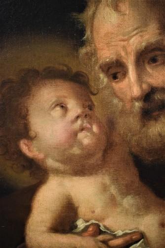 "Saint Joseph with the Child ""Paternity"" -"
