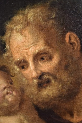 "Saint Joseph with the Child ""Paternity"" - Louis XV"