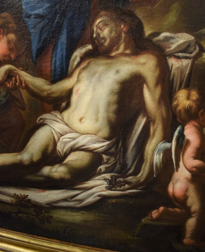 Paintings & Drawings  - Lamentation of the Virgin with the Magdalene