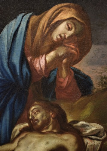Lamentation of the Virgin with the Magdalene -