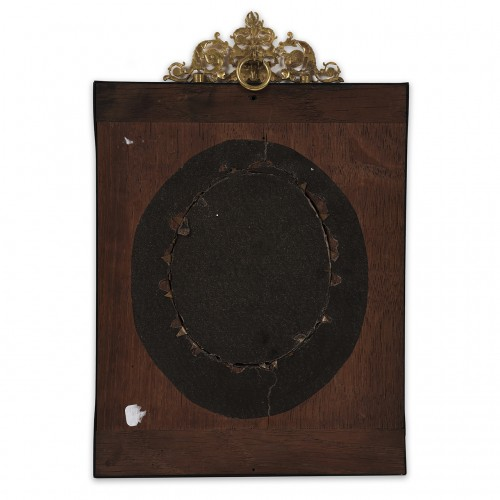 Objects of Vertu  - French school from Restauration period Portrait of King Charles X