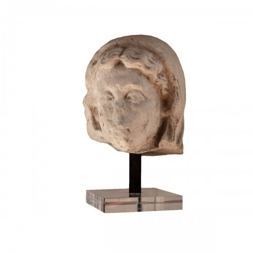 Roman Head presumed of Livia, spouse of Augustus, circa Ist century AD