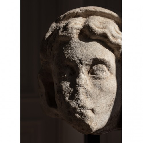 - Roman Head presumed of Livia, spouse of Augustus, circa Ist century AD