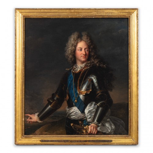 Portrait of Comte de Toulouse - workshop of Hyacinthe RIGAUD