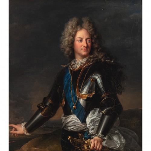 Portrait of Comte de Toulouse - workshop of Hyacinthe RIGAUD - Paintings & Drawings Style Louis XIV