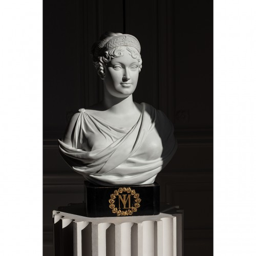 Exceptional Sèvres imperial biscuit bust - Porcelain & Faience Style Empire