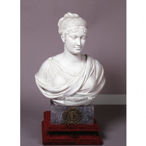 Empire - Exceptional Sèvres imperial biscuit bust