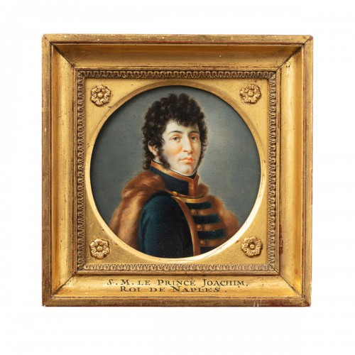Miniature portrait of Joachim Murat after François Gérard (1770-1837)