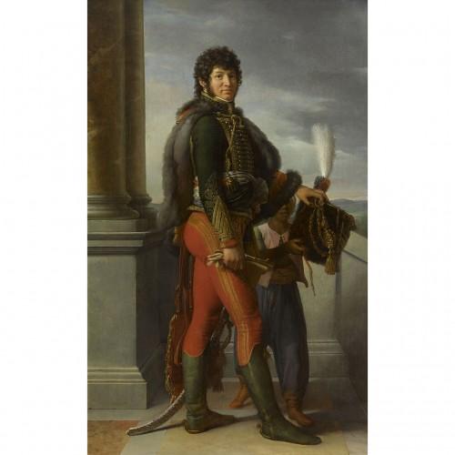 Objects of Vertu  - Miniature portrait of Joachim Murat after François Gérard (1770-1837)