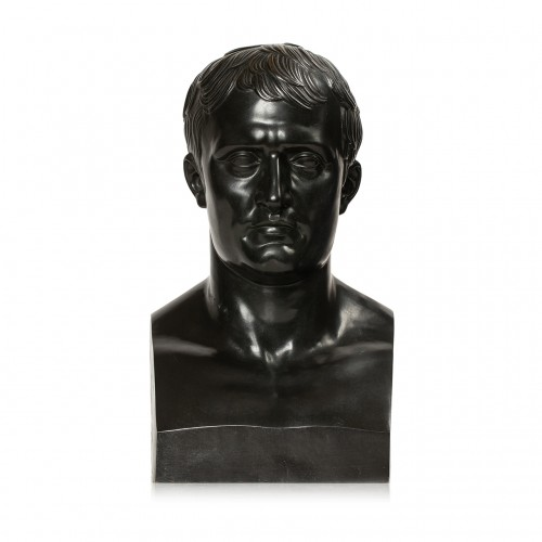 Bust of the Emperor Napoleon Ist after Antoine-Denis CHAUDET (1763-1810)