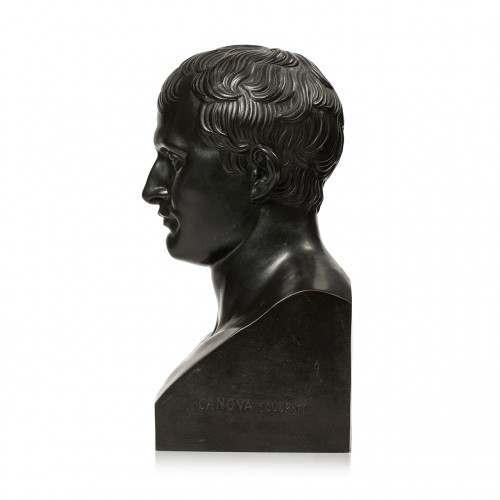 Bust of the Emperor Napoleon Ist after Antoine-Denis CHAUDET (1763-1810)  - Sculpture Style