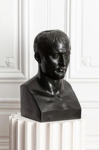 Sculpture  - Bust of the Emperor Napoleon Ist after Antoine-Denis CHAUDET (1763-1810)