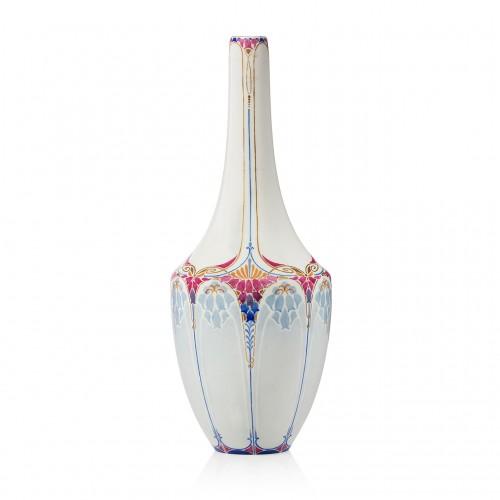 A sèvres porcelain art nouveau vase By Marcel-Jean Piquet, 1921