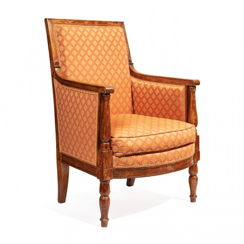 Seating  - Set of 2 bergeres & 2 armchairs from the empire period From the palace of fontainebleau
